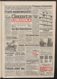 Gazeta Lubuska : dawniej Zielonogórska-Gorzowska R. XLII [właśc. XLIII], nr 229 (30 września 1994). - Wyd. 1