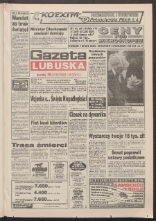Gazeta Lubuska : dawniej Zielonogórska-Gorzowska R. XLII [właśc. XLIII], nr 255 (31 października/1 listopada 1994). - Wyd. 1