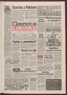 Gazeta Lubuska : dawniej Zielonogórska-Gorzowska R. XLII [właśc. XLIII], nr 261 (8 listopada 1994). - Wyd. 1