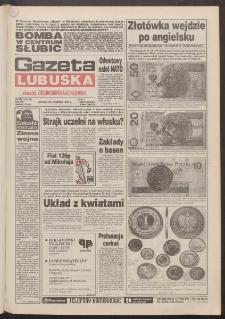 Gazeta Lubuska : dawniej Zielonogórska-Gorzowska R. XLII [właśc. XLIII], nr 272 (22 listopada 1994). - Wyd. 1