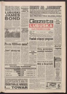 Gazeta Lubuska : dawniej Zielonogórska-Gorzowska R. XLII [właśc. XLIII], nr 281 (2 grudnia 1994). - Wyd. 1