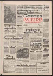 Gazeta Lubuska : dawniej Zielonogórska-Gorzowska R. XLII [właśc. XLIII], nr 283 (5 grudnia 1994). - Wyd. 1