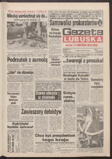 Gazeta Lubuska : dawniej Zielonogórska-Gorzowska R. XLII [właśc. XLIII], nr 284 (6 grudnia 1994). - Wyd. 1