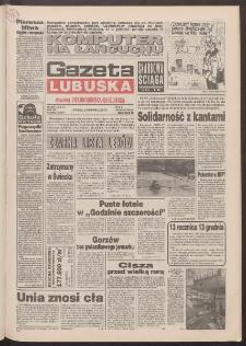 Gazeta Lubuska : dawniej Zielonogórska-Gorzowska R. XLII [właśc. XLIII], nr 290 (13 grudnia 1994). - Wyd. 1