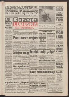 Gazeta Lubuska : dawniej Zielonogórska-Gorzowska R. XLII [właśc. XLIII], nr 296 (20 grudnia 1994). - Wyd. 1