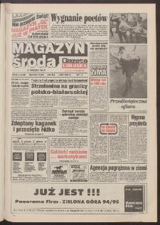 Gazeta Lubuska : magazyn środa : dawniej Zielonogórska-Gorzowska R. XLII [właśc. XLIII], nr 297 (21 grudnia 1994). - Wyd. 1
