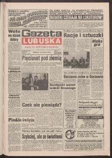 Gazeta Lubuska : dawniej Zielonogórska-Gorzowska R. XLII [właśc. XLIII], nr 298 (22 grudnia 1994). - Wyd. 1