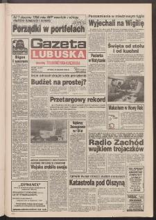 Gazeta Lubuska : dawniej Zielonogórska-Gorzowska R. XLII [właśc. XLIII], nr 300 (27 grudnia 1994). - Wyd. 1
