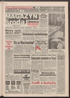 Gazeta Lubuska : magazyn środa : dawniej Zielonogórska-Gorzowska R. XLII [właśc. XLIII], nr 301 (28 grudnia 1994). - Wyd. 1