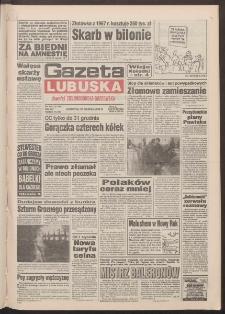Gazeta Lubuska : dawniej Zielonogórska-Gorzowska R. XLII [właśc. XLIII], nr 302 (29 grudnia 1994). - Wyd. 1