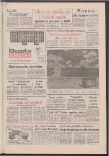 Gazeta Lubuska : magazyn : dawniej Zielonogórska-Gorzowska R. XL [właśc. XLI], nr 108 (9/10 maja 1992). - Wyd. 1