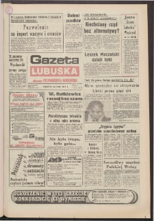 Gazeta Lubuska : dawniej Zielonogórska-Gorzowska R. XL [właśc. XLI], nr 124 (28 maja 1992). - Wyd. 1