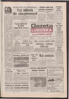 Gazeta Lubuska : dawniej Zielonogórska-Gorzowska R. XL [właśc. XLI], nr 134 (9 czerwca 1992). - Wyd. 1