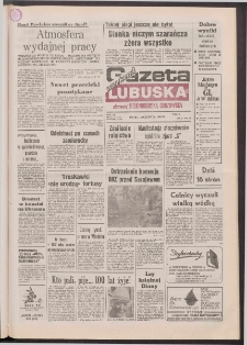 Gazeta Lubuska : weekend : dawniej Zielonogórska-Gorzowska R. XL [właśc. XLI], nr 137 (12 czerwca 1992). - Wyd. 1