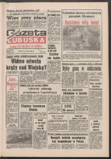 Gazeta Lubuska : weekend : dawniej Zielonogórska-Gorzowska R. XL [właśc. XLI], nr 172 (24 lipca 1992). - Wyd. 1
