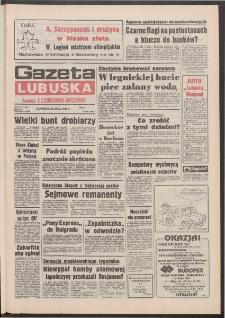 Gazeta Lubuska : dawniej Zielonogórska-Gorzowska R. XL [właśc. XLI], nr 177 (30 lipca 1992). - Wyd. 1