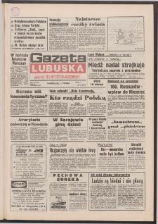 Gazeta Lubuska : dawniej Zielonogórska-Gorzowska R. XL [właśc. XLI], nr 180 (3 sierpnia 1992). - Wyd. 1