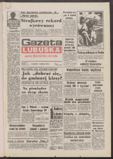 Gazeta Lubuska : dawniej Zielonogórska-Gorzowska R. XL [właśc. XLI], nr 183 (6 sierpnia 1992). - Wyd. 1
