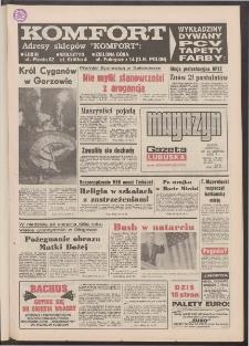 Gazeta Lubuska : magazyn : dawniej Zielonogórska-Gorzowska R. XL [właśc. XLI], nr 196 (22/23 sierpnia 1992). - Wyd. 1
