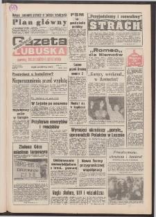 Gazeta Lubuska : weekend : dawniej Zielonogórska-Gorzowska R. XL [właśc. XLI], nr 201 (28 sierpnia 1992). - Wyd. 1