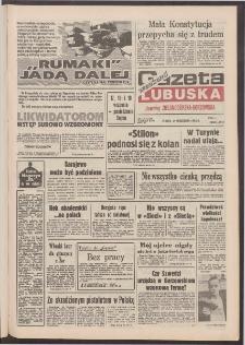 Gazeta Lubuska : weekend : dawniej Zielonogórska-Gorzowska R. XL [właśc. XLI], nr 213 (11 września 1992). - Wyd. 1