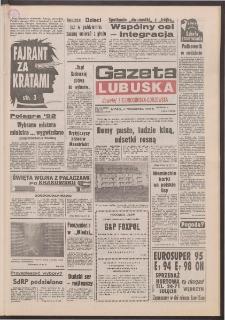 Gazeta Lubuska : dawniej Zielonogórska-Gorzowska R. XL [właśc. XLI], nr 234 (6 października 1992). - Wyd. 1
