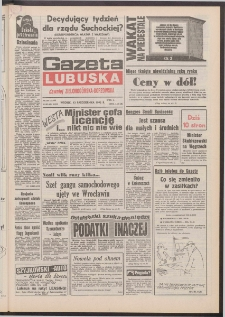 Gazeta Lubuska : dawniej Zielonogórska-Gorzowska [R. XLI], nr 240 (13 października 1992). - Wyd. 1