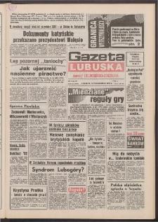 Gazeta Lubuska : dawniej Zielonogórska-Gorzowska [R. XLI], nr 242 (15 października 1992). - Wyd. 1