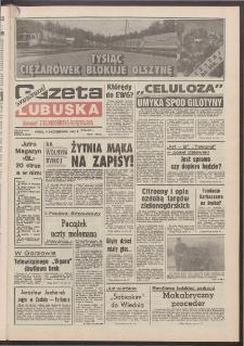 Gazeta Lubuska : weekend : dawniej Zielonogórska-Gorzowska R. XL [właśc. XLI], nr 237 (9 października 1992). - Wyd. 1