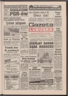 Gazeta Lubuska : dawniej Zielonogórska-Gorzowska [R. XLI], nr 254 (29 października 1992). - Wyd. 1