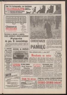 Gazeta Lubuska : magazyn : dawniej Zielonogórska-Gorzowska R. XL [właśc. XLI], nr 256 (31 października/1 listopada 1992). - Wyd. 1