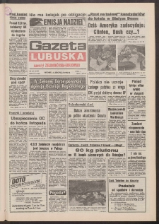Gazeta Lubuska : dawniej Zielonogórska-Gorzowska [R. XLI], nr 258 (3 listopada 1992). - Wyd. 1