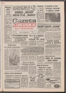 Gazeta Lubuska : weekend : dawniej Zielonogórska-Gorzowska [R. XLI], nr 261 (6 listopada 1992). - Wyd. 1