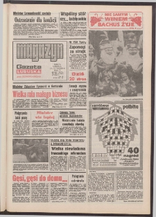 Gazeta Lubuska : magazyn : dawniej Zielonogórska-Gorzowska R. XL [właśc. XLI], nr 220 (19/20 września 1992). - Wyd. 1