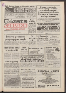 Gazeta Lubuska : weekend : dawniej Zielonogórska-Gorzowska [R. XLI], nr 284 (4 grudnia 1992). - Wyd. 1