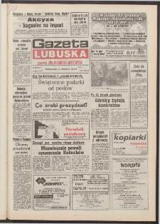 Gazeta Lubuska : dawniej Zielonogórska-Gorzowska [R. XLI], nr 298 (21 grudnia 1992). - Wyd. 1