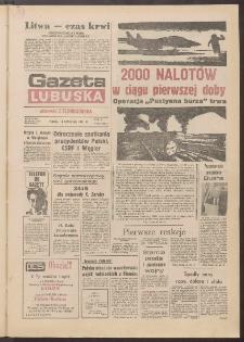 Gazeta Lubuska : dawniej Zielonogórska R. XXXIX [właśc. XL], nr 15 (18 stycznia 1991). - Wyd. 1