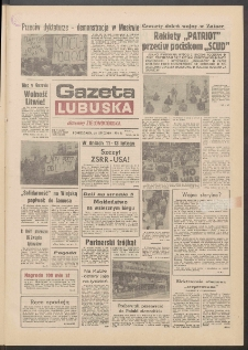 Gazeta Lubuska : dawniej Zielonogórska R. XXXIX [właśc. XL], nr 17 (21 stycznia 1991). - Wyd. 1