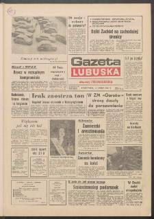 Gazeta Lubuska : dawniej Zielonogórska R. XXXIX [właśc. XL], nr 35 (11 lutego 1991). - Wyd. 1