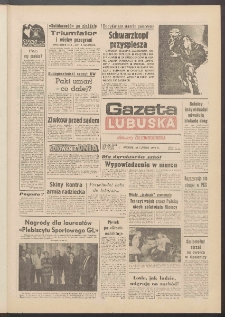 Gazeta Lubuska : dawniej Zielonogórska R. XXXIX [właśc. XL], nr 48 (26 lutego 1991). - Wyd. 1