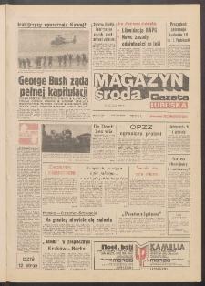 Gazeta Lubuska : magazyn środa : dawniej Zielonogórska R. XXXIX [właśc. XL], nr 49 (27 lutego 1991). - Wyd. 1