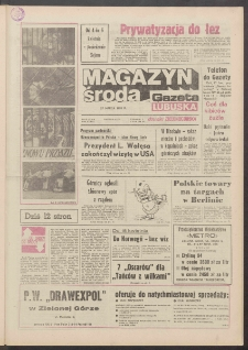 Gazeta Lubuska : magazyn środa : dawniej Zielonogórska R. XXXIX [właśc. XL], nr 73 (27 marca 1991). - Wyd. 1