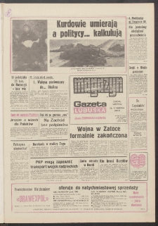 Gazeta Lubuska : magazyn : dawniej Zielonogórska-Gorzowska R. XXXIX [właśc. XL], nr 86 (13/14 kwietnia 1991). - Wyd. 1