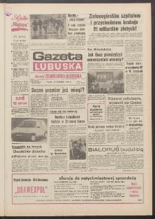 Gazeta Lubuska : dawniej Zielonogórska-Gorzowska R. XXXIX [właśc. XL], nr 91 (19 kwietnia 1991). - Wyd. 1