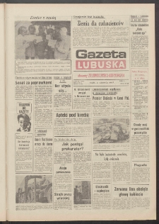 Gazeta Lubuska : dawniej Zielonogórska-Gorzowska R. XXXIX [właśc. XL], nr 142 (21 czerwca 1991). - Wyd. 1