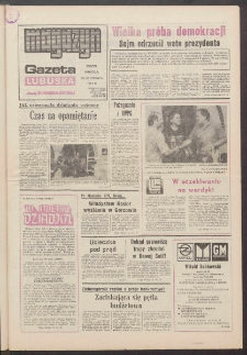 Gazeta Lubuska : magazyn : dawniej Zielonogórska-Gorzowska R. XXXIX [właśc. XL], nr 149 (29/30 czerwca 1991). - Wyd. 1