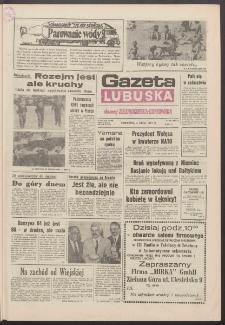 Gazeta Lubuska : dawniej Zielonogórska-Gorzowska R. XXXIX [właśc. XL], nr 153 (4 lipca 1991). - Wyd. 1