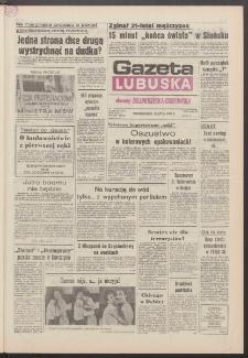 Gazeta Lubuska : dawniej Zielonogórska-Gorzowska R. XXXIX [właśc. XL], nr 162 (15 lipca 1991). - Wyd. 1