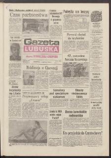 Gazeta Lubuska : dawniej Zielonogórska-Gorzowska R. XXXIX [właśc. XL], nr 177 (1 sierpnia 1991). - Wyd. 1