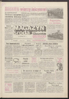 Gazeta Lubuska : magazyn środa : dawniej Zielonogórska-Gorzowska R. XXXIX [właśc. XL], nr 193 (21 sierpnia 1991). - Wyd. 1